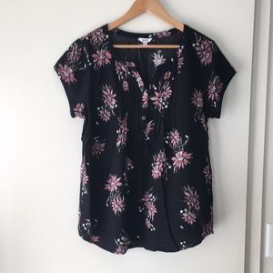 Sonoma floral top